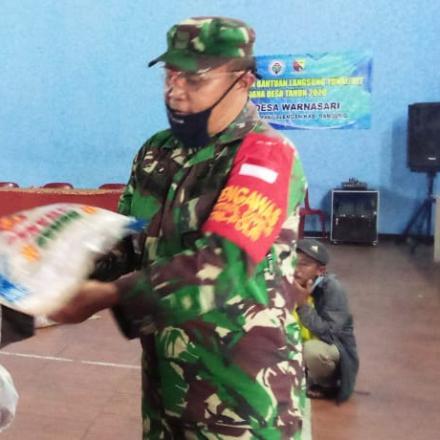 Penyaluran Bantuan Bansos Kabupaten