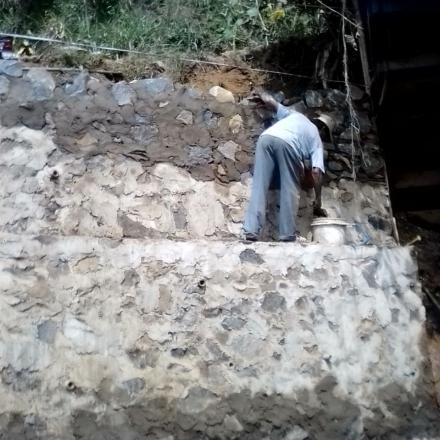 Album : kegiatan pembangunan desa warnasari